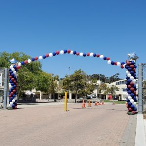 10 ft with string of pearls arch