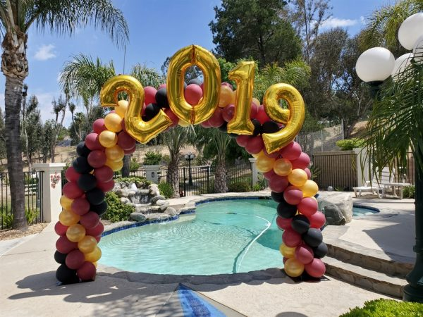 20 ft year arch