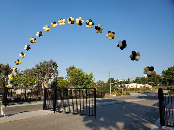 bubble arch
